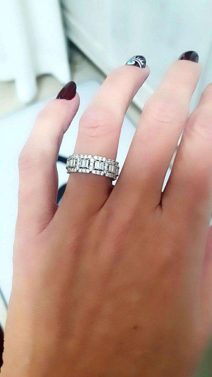 טבעת רומי עבה קוביות מכסף