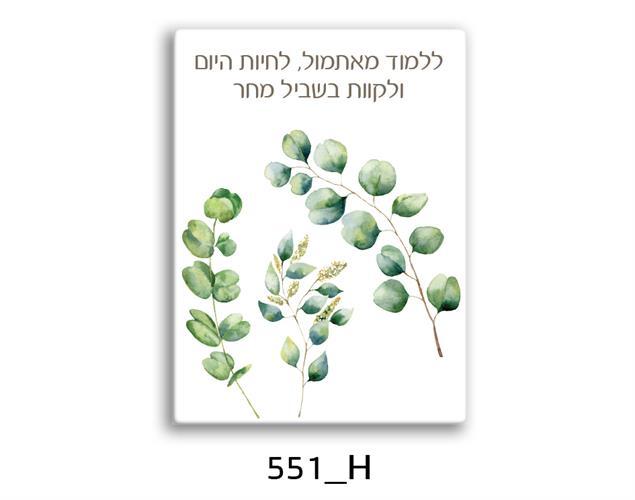 תמונת השראה מעוצבת לתינוקות, לסלון, חדר שינה, מטבח, ילדים - תמונת השראה דגם 551H