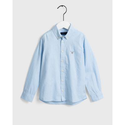 חולצת גאנט מכופתרת תכלת