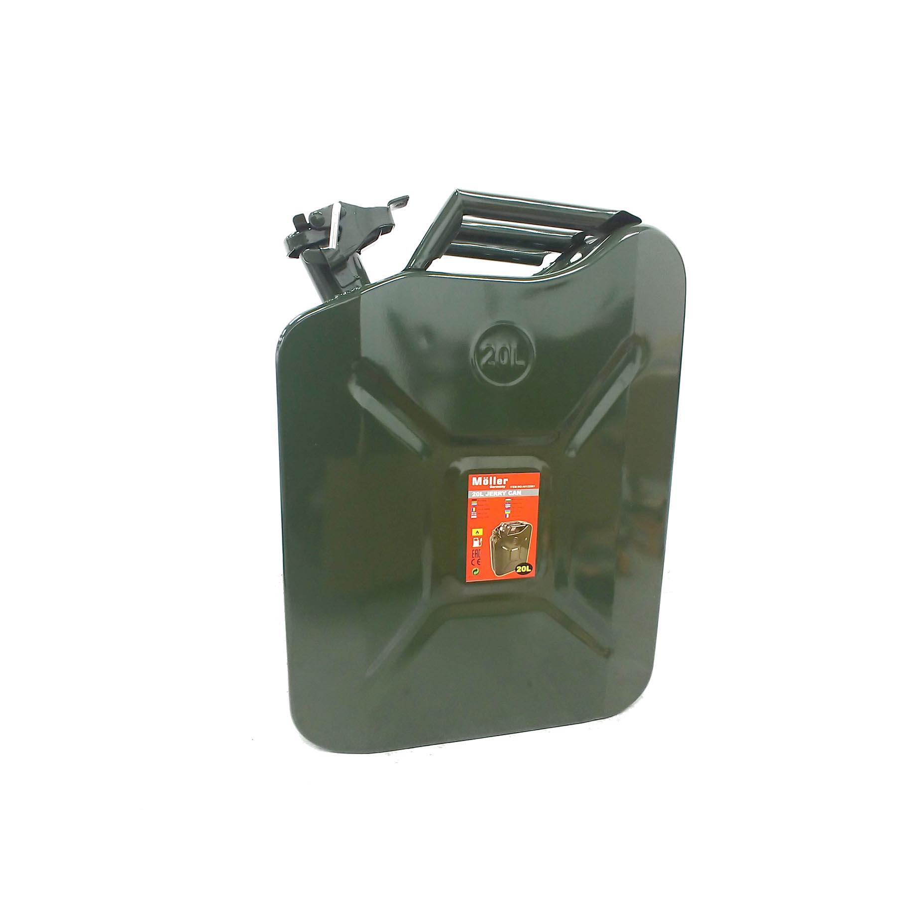 ג'ריקן - מיכל מילוי - 20 ליטר  מבית מולר ג'רמני