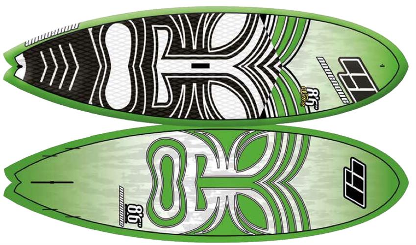 "CSE 8'6"" WOOD Wave"