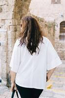 חולצה קמיקז לבנה