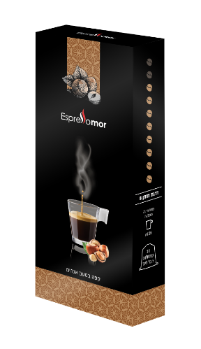 קפסולות קפה אגוזים