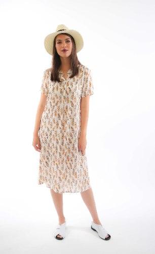 שמלת דניאלה לבנה