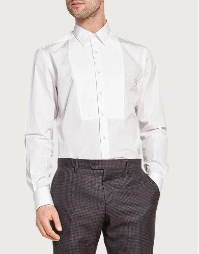 חולצה Salvatore Ferragamo לגברים עם חפתים
