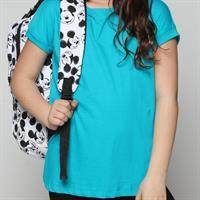 חולצת בית ספר בנות ניקי צבעוני