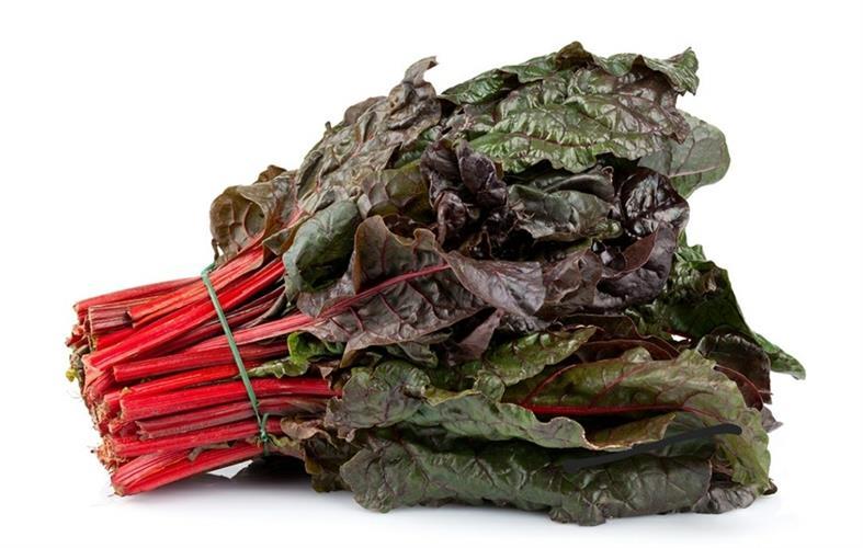 עלי סלק (מנגולד) אדום אורגני - מארז