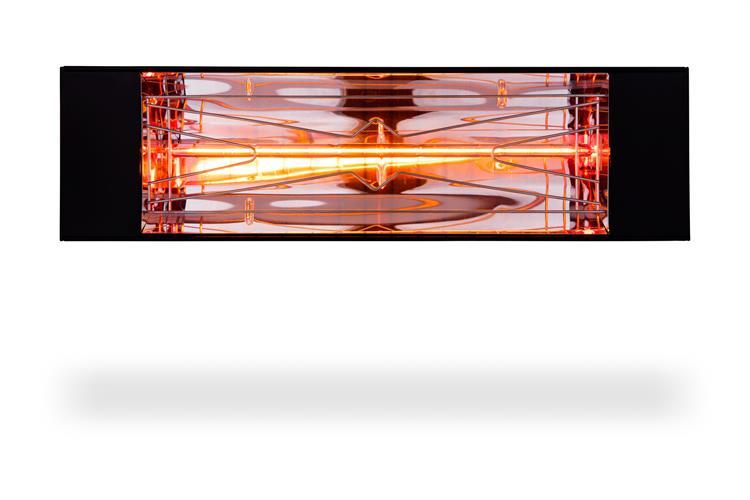Marcello 1000 Black תנור אינפרא אדום מעוצב