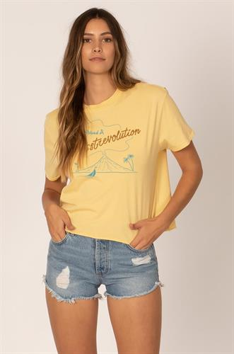Sisstrevolution ISLAND SISS KNIT CROP TEE