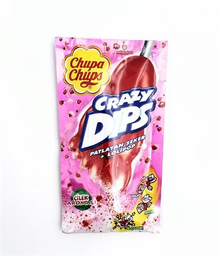 Chupa Chups Strawberry dips