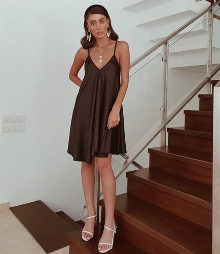 שמלת דונה קלוש - שחורה