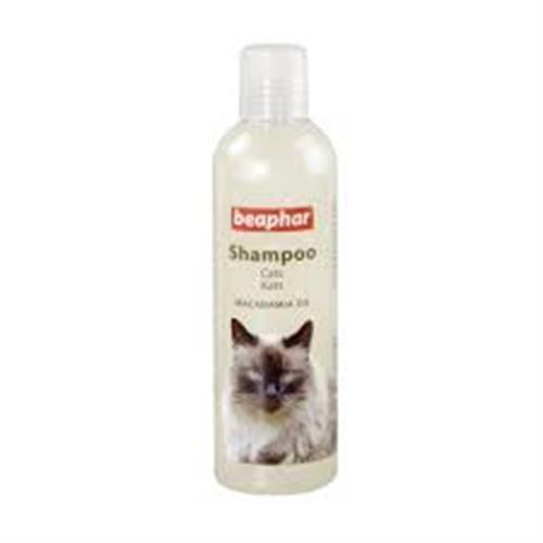 """שמפו לחתולים עם שמן מקדמיה 250 מ""""ל (beaphar)"""