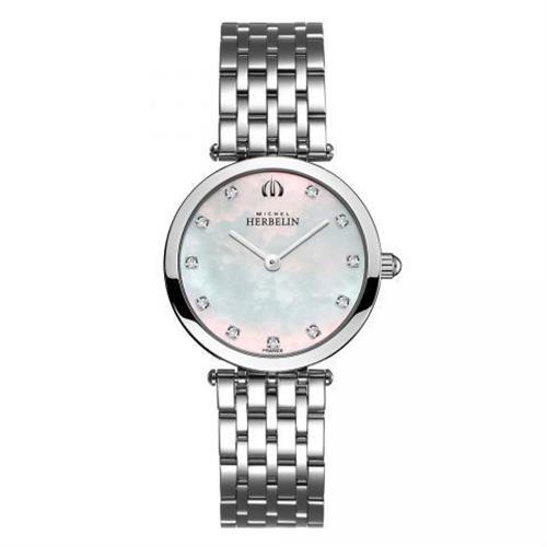 שעון יד אנלוגי נשים Michel Herbelin 1045-B59