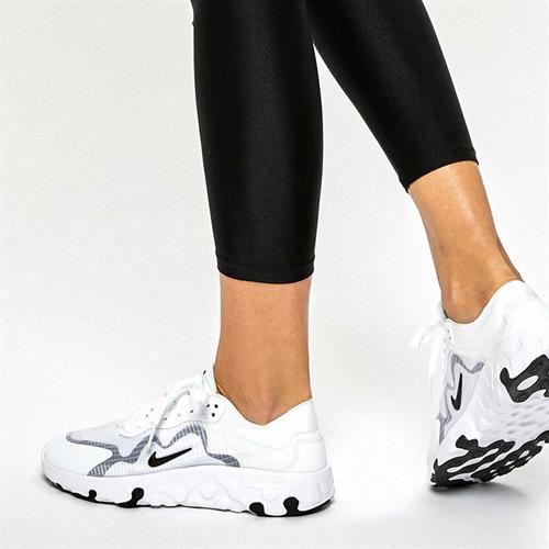 נעלי נשים נייק Renew Lucent צבע לבן/שחור דגם BQ4152-101