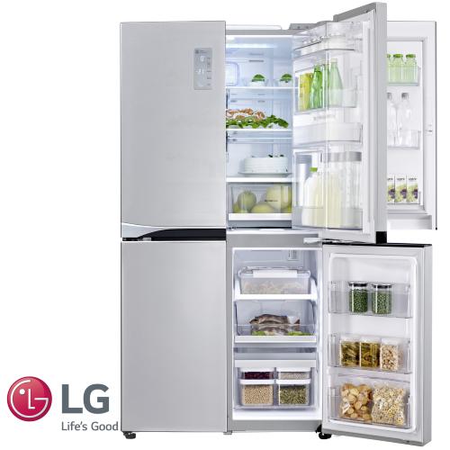 מגניב LG מקרר 4 דלתות דגם: GRB-709DID מתצוגה! | Brimag Online GJ-33