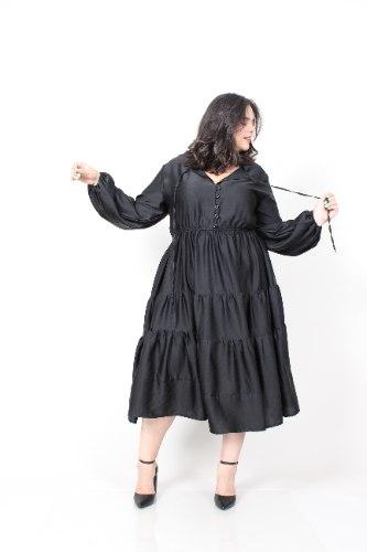 שמלת אייבי שחורה