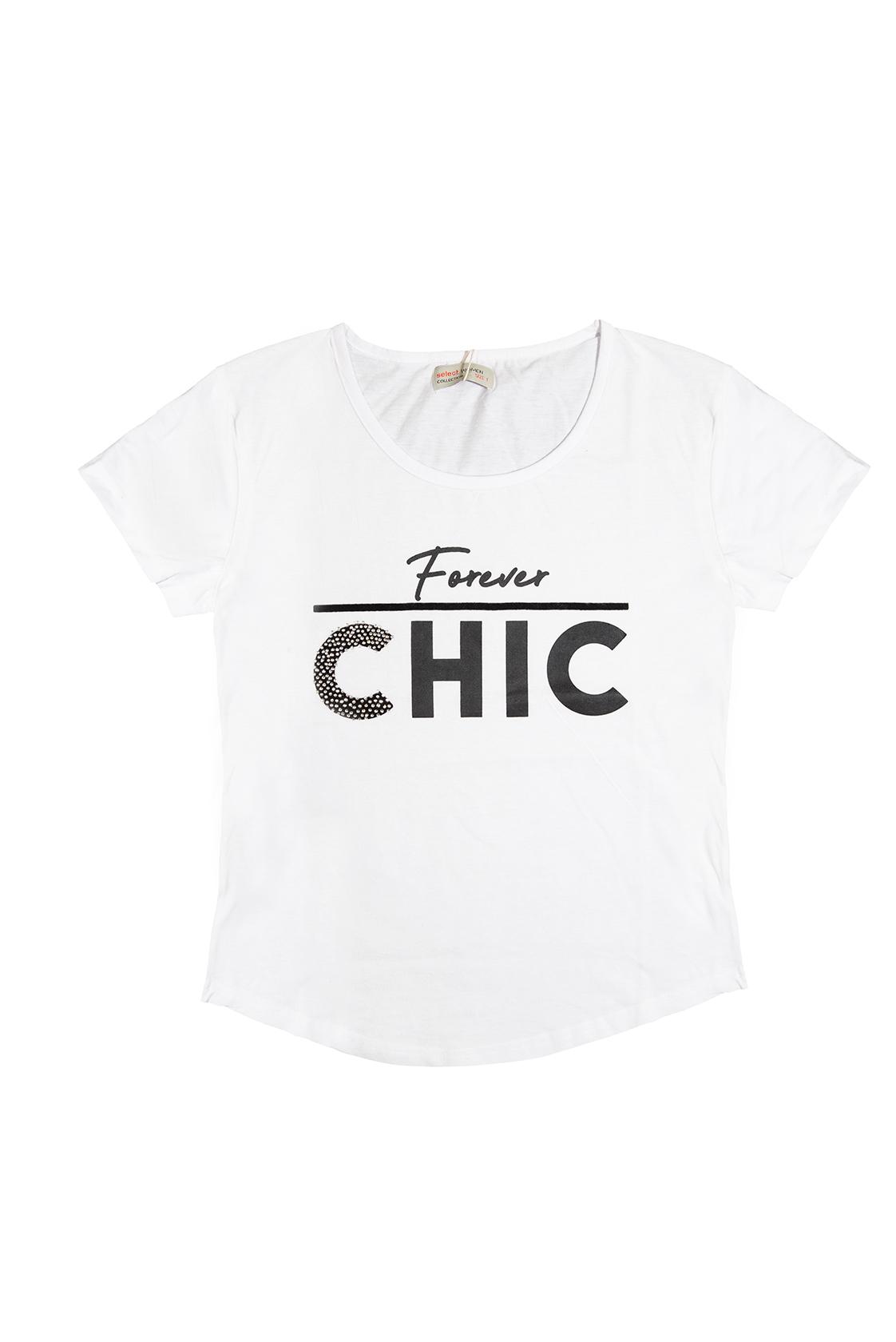 חולצת CHIC לבנה