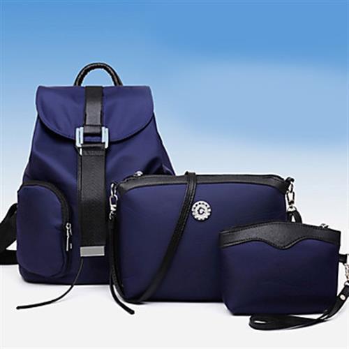Women's Bags Set - Blue