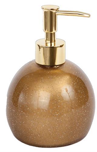דיספנסר מעוצב לסבון נוזלי זהב ספארק