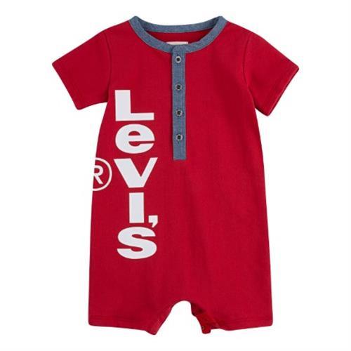 אוברול לוגו מאונך LEVIS אדום