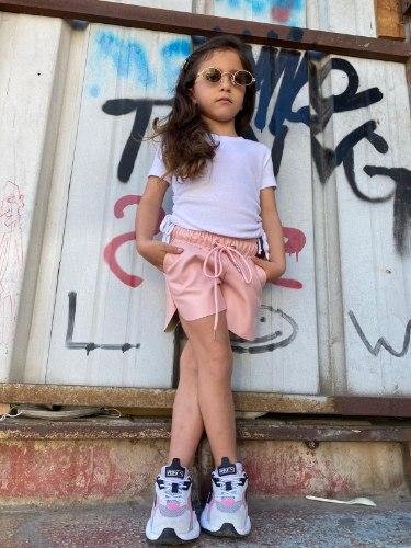 חולצת בייסיק קרופ MISS KIDS לבנה - 2-18