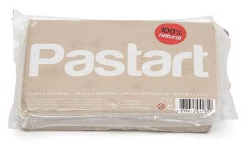 """חימר טיבעי לבן 1.5 ק""""ג - PASTART"""