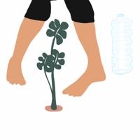 """אשה לוקחת לעצמה רגע להתבונן בצמח - מתוך """"החיים יפים"""", הסדרה האופטימית"""