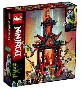 לגו- נינג'אגו מקדש הטירוף של האימפריה 71712