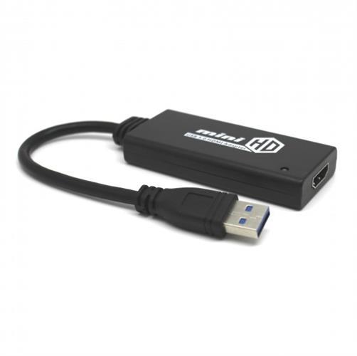 מתאם Gold Touch מחיבור USB 3.0 לחיבור HDMI נקבה באורך 0.2 מטר