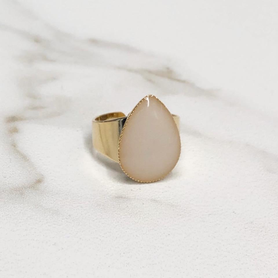 טבעת טיפה גולדפילד - שביל החלב-תכשיטים למניקות