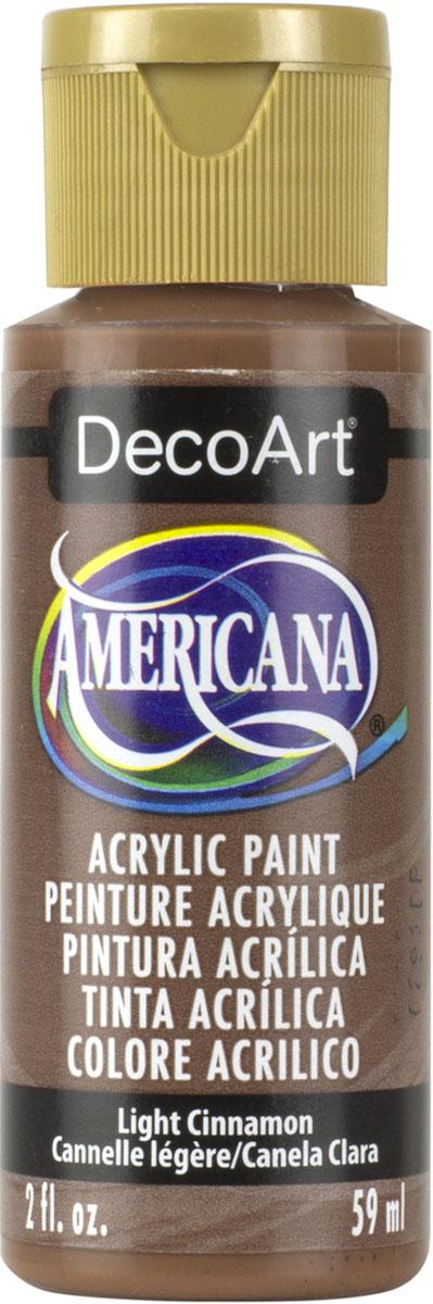 """צבע אמריקנה 59 מ""""ל Light Cinnamon DA114"""