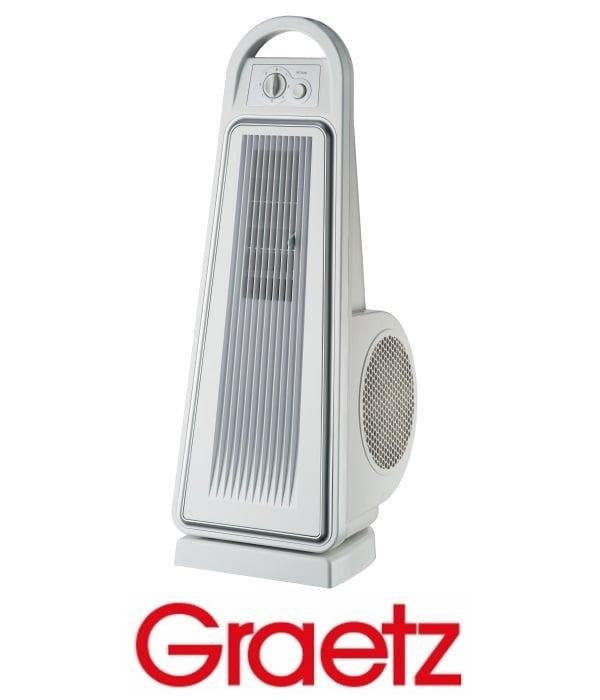 Graetz מאוורר מגדל עוצמתי מסדרת AIR FORCE דגם GRT-490