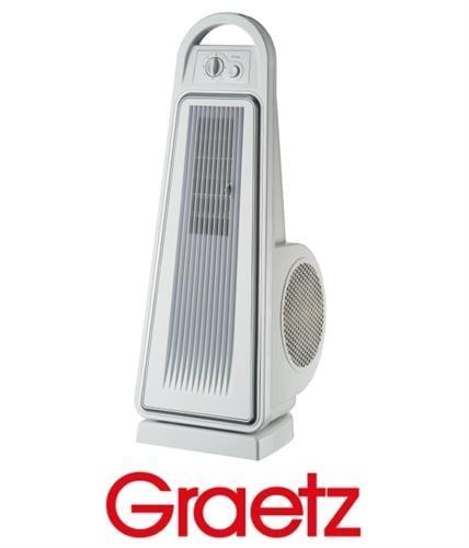 Graetz מאוורר מגדל עוצמתי מסדרת AIR FORCE דגם GRT490