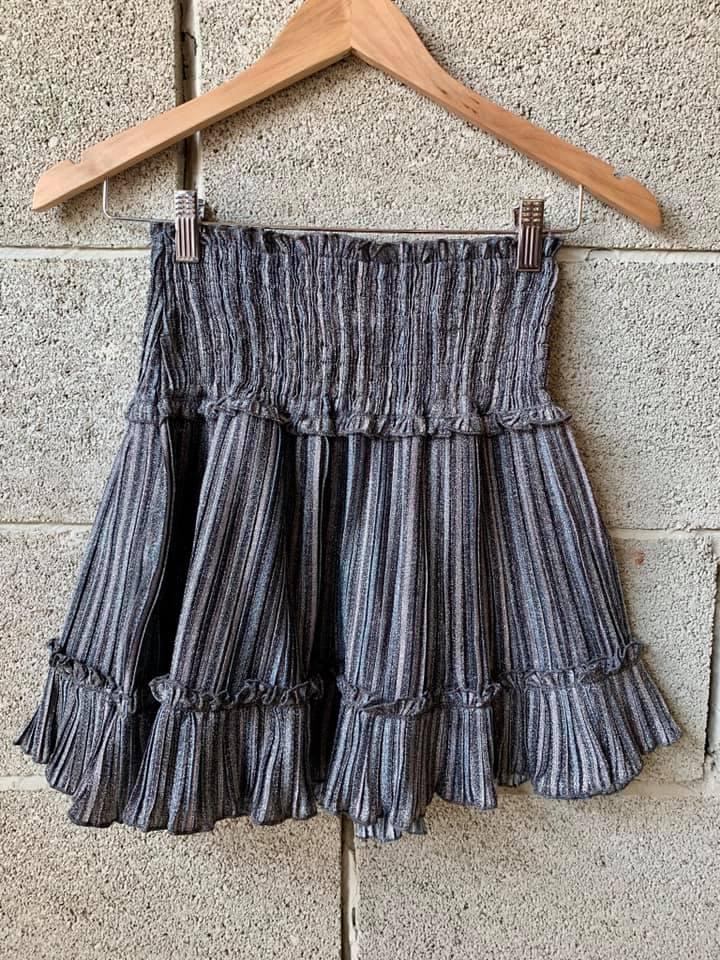 חצאית לורקס סילבר