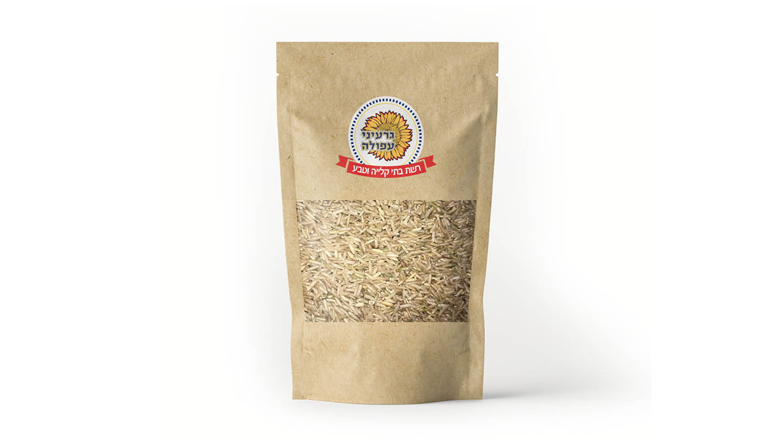 אורז בסמתי מלא 500 גרם