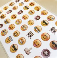 דף טרנספר - סמיילי אימוג'י - ליצירת נשיקות מרנג ומטבעות שוקולד