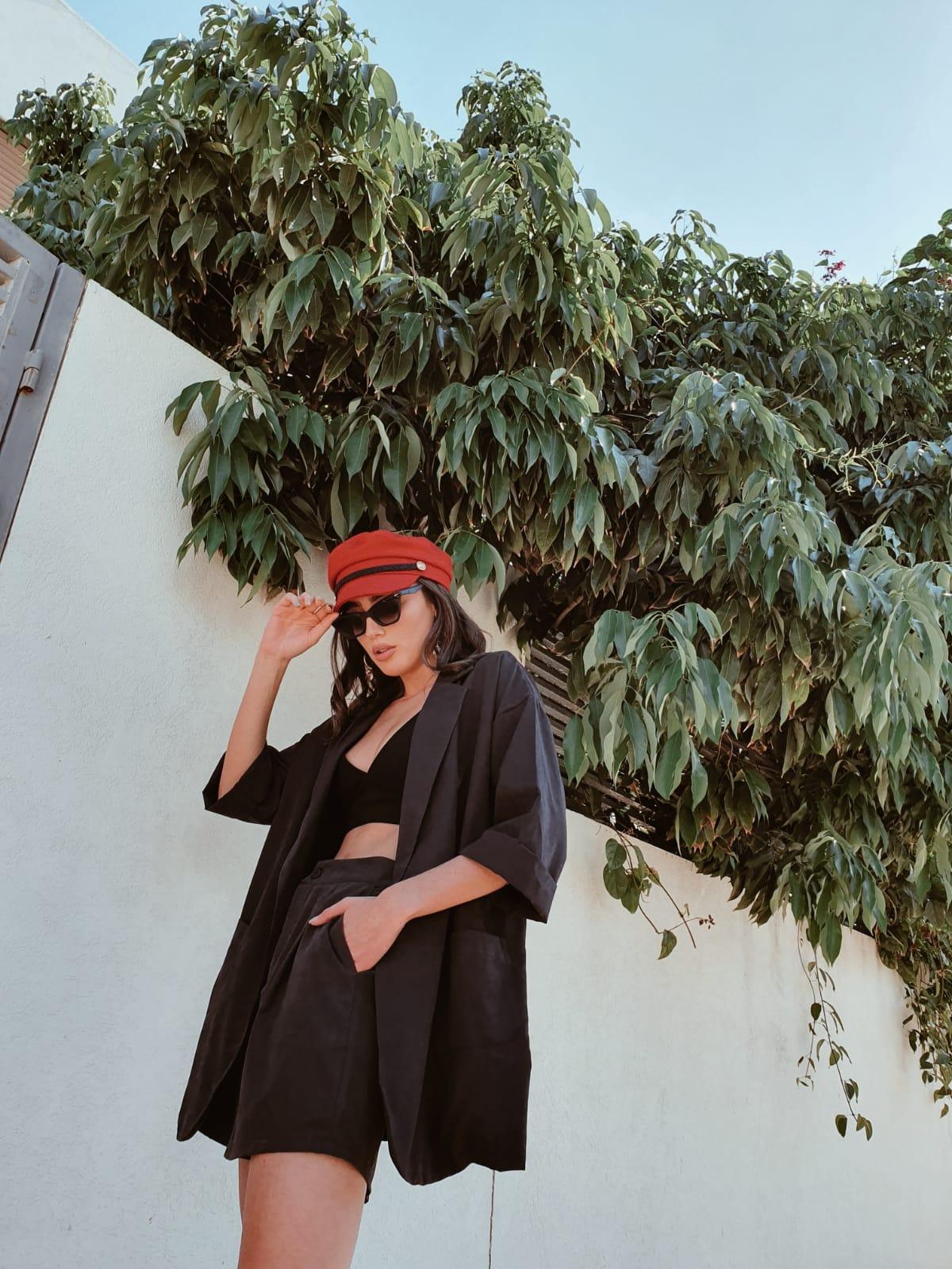 חליפת קארן - שחורה