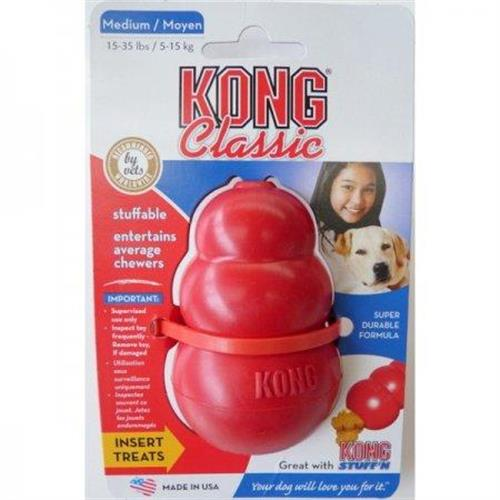 משחק קונג XL להחבאת חטיף ותעסוקה לכלב גדול