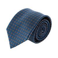 עניבה קלאסית ריבועים כחול