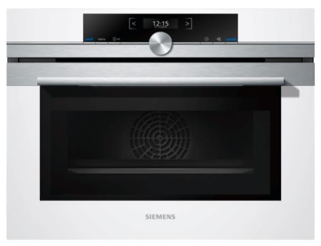 תנור בנוי משולב מיקרוגל Siemens CM633GBW1