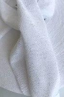 חוטי טריקו לורקס מבריק צבע לבן, חוטי טריקו פרוסים לסריגה צבע לבן נצנץ, חויט טריקו לורקס נצנצים, חוטי טריקו לבן עם לורקס זהב, חוטי טריקו לסריגה זוהרים