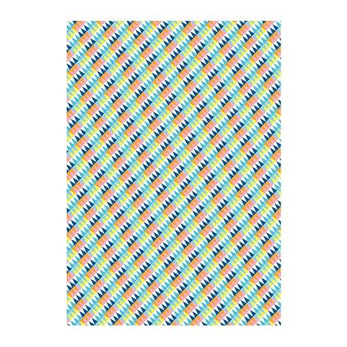 מארז 3 דפי דקופאז' - משולשי אלכסון DECOPATCH