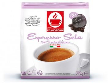 16 קפסולות קפה בוניני SETA תואם דולצ'ה גוסטו - חוזק 5