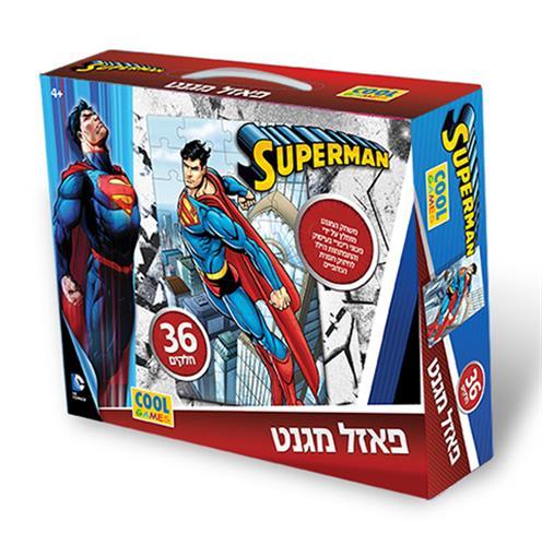 פאזל מגנט סופרמן  36 חלקים