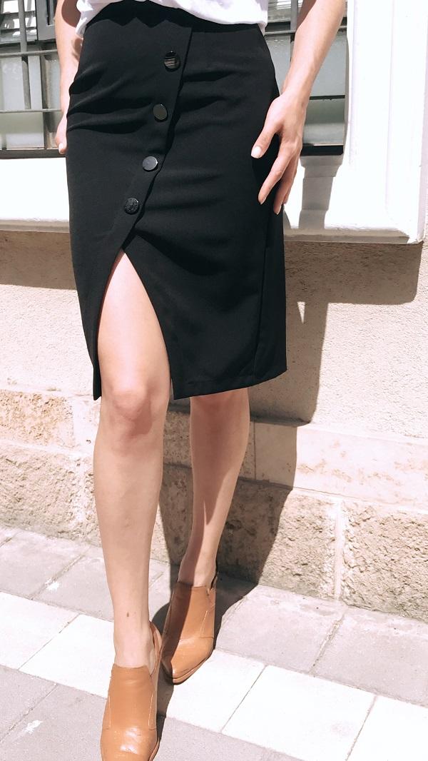 חצאית אנבל שחור