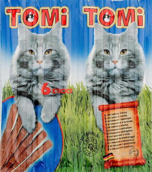 חטיפי טומי TOMI בטעם סלמון