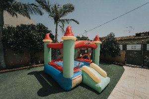 מתקן קפיצה מתנפח טירת הקסמים - D2821 - Magic castle מבית Jumpy Jump העולמית