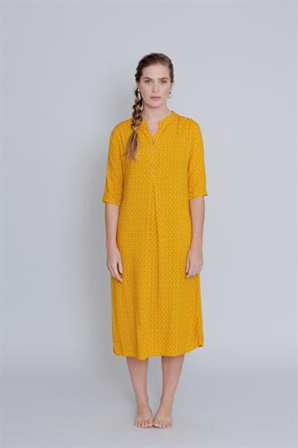 שמלת דניאלה צהובה