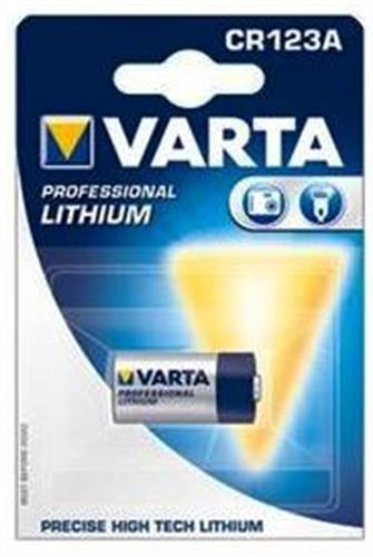 סוללות ליטיום VARTA LITHIUM CR123