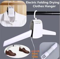 מתלה חשמלי מתקפל לייבוש הבגדים